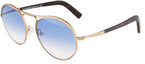 Tom Ford Round Metal Sunglasses