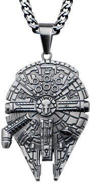 Star Wars FINE JEWELRY Stainless Steel Millennium Falcon Pendant Necklace