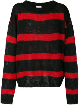 Faith Connexion loose fit striped jumper