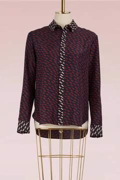 Kenzo Silk Casual Fit Shirt