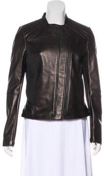 T Tahari Kirsten Leather Jacket w/ Tags