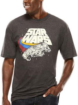 Star Wars Novelty T-Shirts Darth Vader Short-Sleeve Graphic Tee - Big & Tall