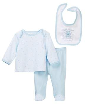 Little Me Thank Heaven Lap Shoulder Set (Baby Boys)