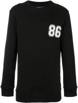 Helmut Lang '86' sweatshirt