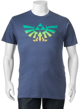 Fifth Sun Big & Tall Zelda Crest Tee