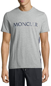 Moncler Maglia Logo-Graphic T-Shirt