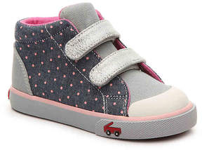 See Kai Run Girls Taylor Toddler High-Top Sneaker