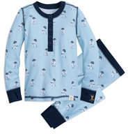 Disney R2-D2 Long John Pajama Set for Kids by Munki Munki