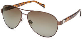 Fossil Beckington Aviator Sunglasses