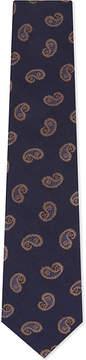 Eton Paisley wool-silk tie