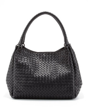 Bottega Veneta Parachute Intrecciato Tote Bag, Black