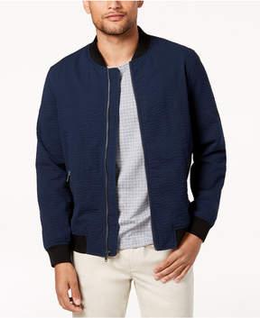 Alfani Men's Seersucker Bomber Jacket, Created for Macy's