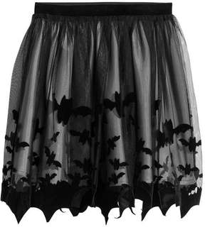 H&M Printed Tulle Skirt