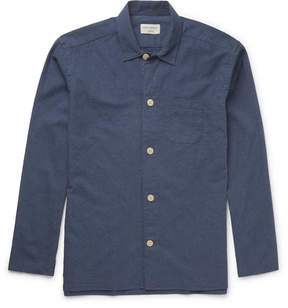 Oliver Spencer Loungewear Brushed-Cotton Pyjama Shirt