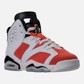 Nike Kids' Grade School Air Jordan Retro 6 Basketball Shoes