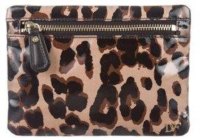 Diane von Furstenberg Leopard Cosmetic Bag