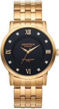 DAY Birger et Mikkelsen Armitron Men's Diamond Accent Stainless Steel Watch - 20/5251BKGP