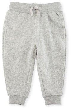 Stella McCartney Zachary Basic Sweatpants, Gray, Size 3-36 Months