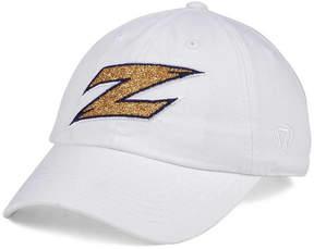 Top of the World Women's Akron Zips White Glimmer Cap