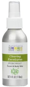 Aura Cacia Clearing Eucalyptus Aromatherapy Room & Women's Body Mist - 4oz