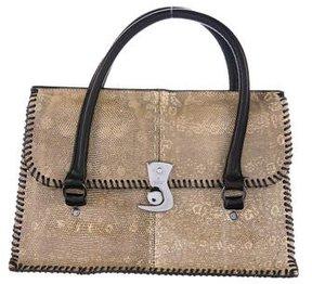 Gucci Ring Lizard Flap Bag - ANIMAL PRINT - STYLE