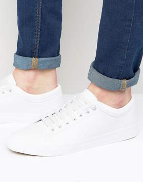 Fred Perry Kendrick Tipped Cuff Leather Sneakers