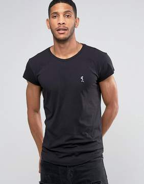 Religion Crew Neck T-Shirt with Drop Shoulder