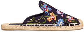 Tory Burch MAX EMBROIDERED ESPADRILLE SLIDE