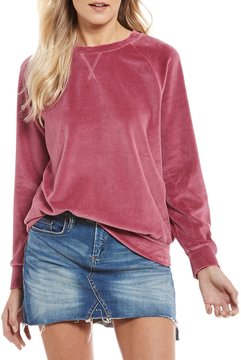 Chelsea & Violet Velour Sweatshirt