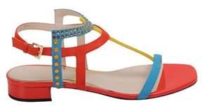 Loriblu Women's Multicolor Suede Sandals.