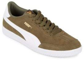 Puma Round Toe Lace-Up Sneakers