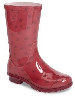 UGG Girl's Raana Stars Waterproof Rain Boot