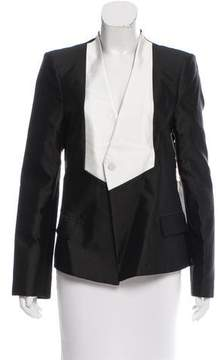 Camilla And Marc Silk-Blend Structured Blazer w/ Tags