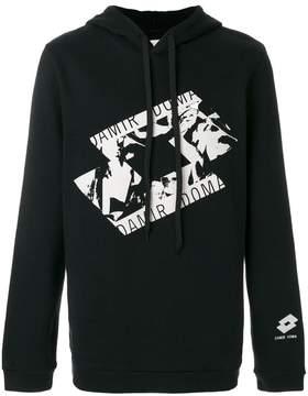 Damir Doma x Lotto printed hoodie