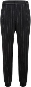 Juun.J Tapered Striped Trousers