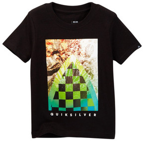 Quiksilver Checker Channel Tee (Toddler Boys)