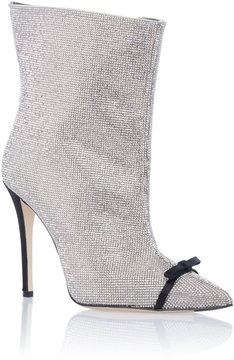 Marco De Vincenzo Crystal High Heel Bootie