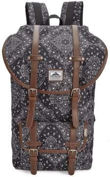 Steve Madden Unisex Bandana Utility Backpack Black