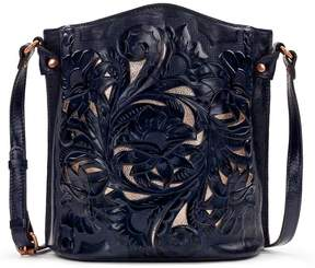 Patricia Nash Burnished Tooled Collection Lavello Cross-Body Bag