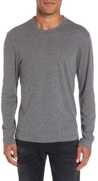 James Perse Men's Melange Knit Long Sleeve T-Shirt