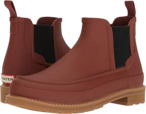Hunter Original Moc Toe Chelsea Boots Men's Rain Boots