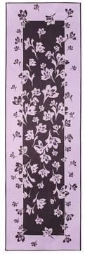 St. John | Falling Flower Print Silk Georgette Scarf