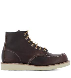 Red Wing Shoes Brown Leather Ankle Boots