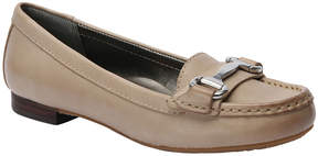 Ros Hommerson Moonstone Buckle Regina Leather Loafer - Women