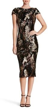 Dress the Population Women's Marcella Sequin Body-Con Dress