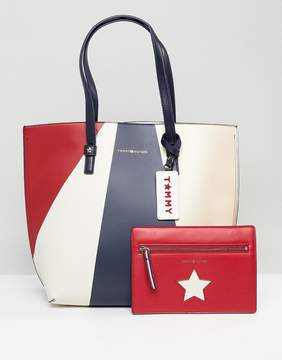 Tommy Hilfiger Multi Tote Bag with Pouch