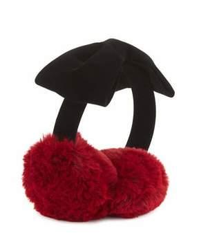 Kate Spade Kids' Faux-Fur Cherry Earmuffs