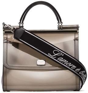 Dolce & Gabbana Sicily Transparent Shoulder Bag