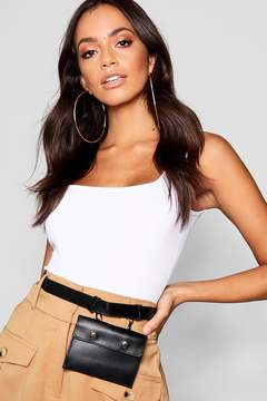 boohoo Lucy Clip Pouch Belt Bag