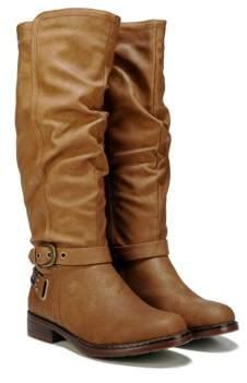 XOXO Women's Masterson Wide Calf Tall Boot